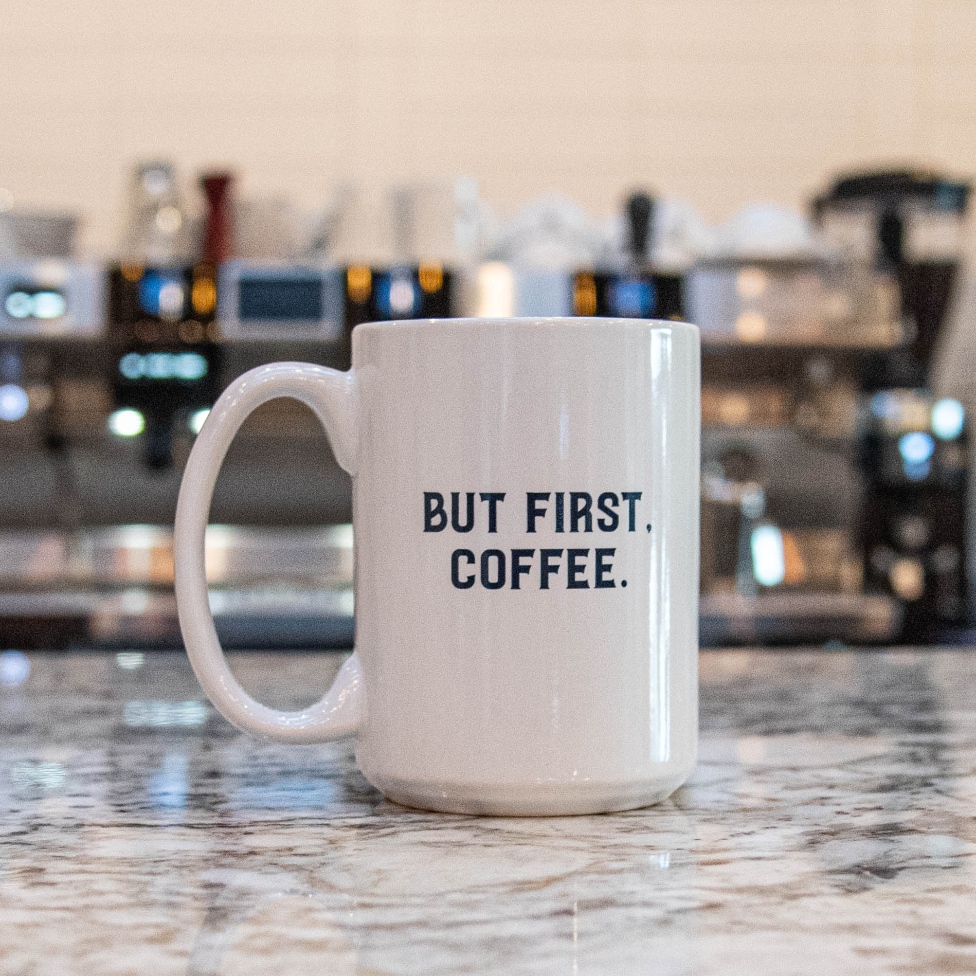 But First, Coffee – Diner Mug
