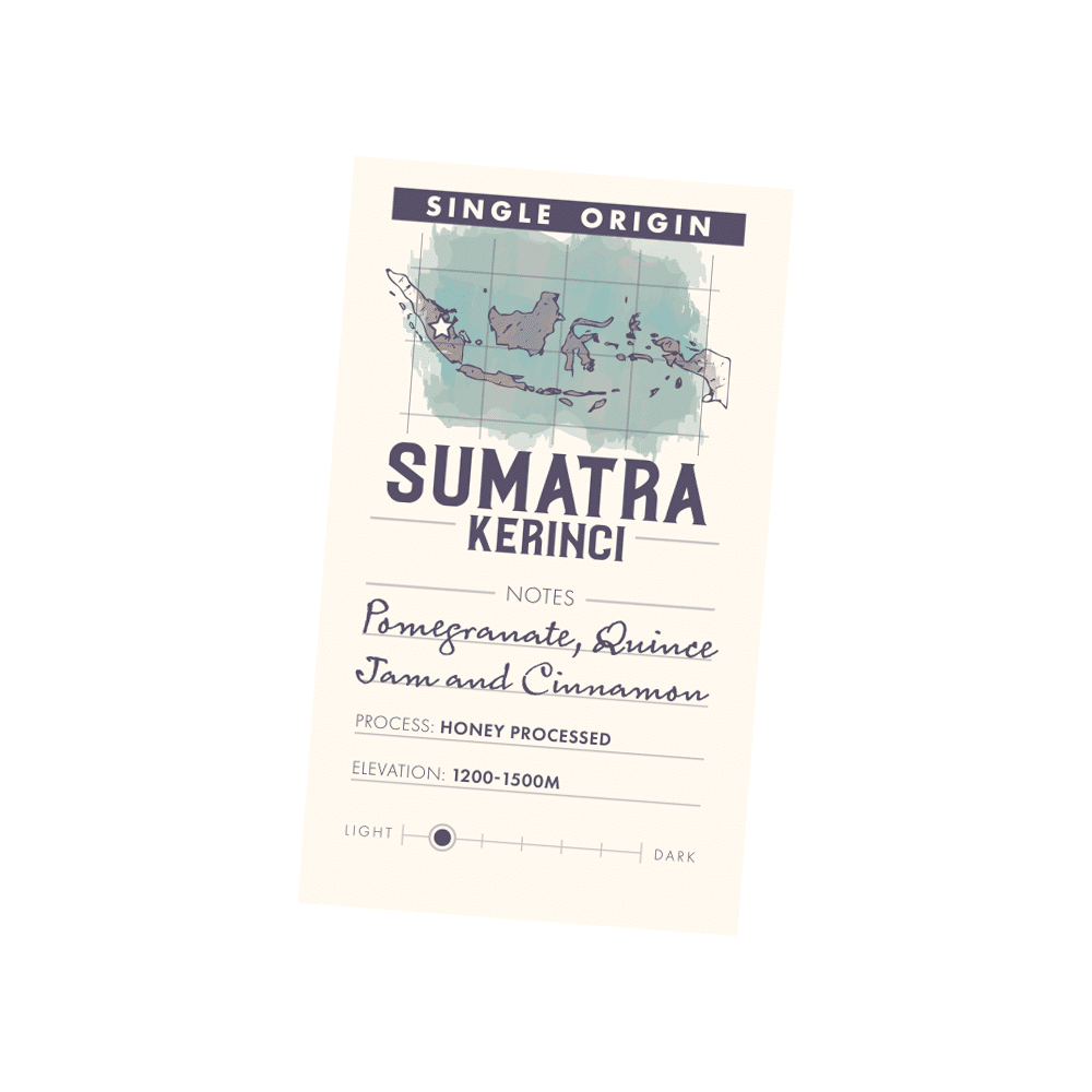 Sumatra Kerinci – Single Origin