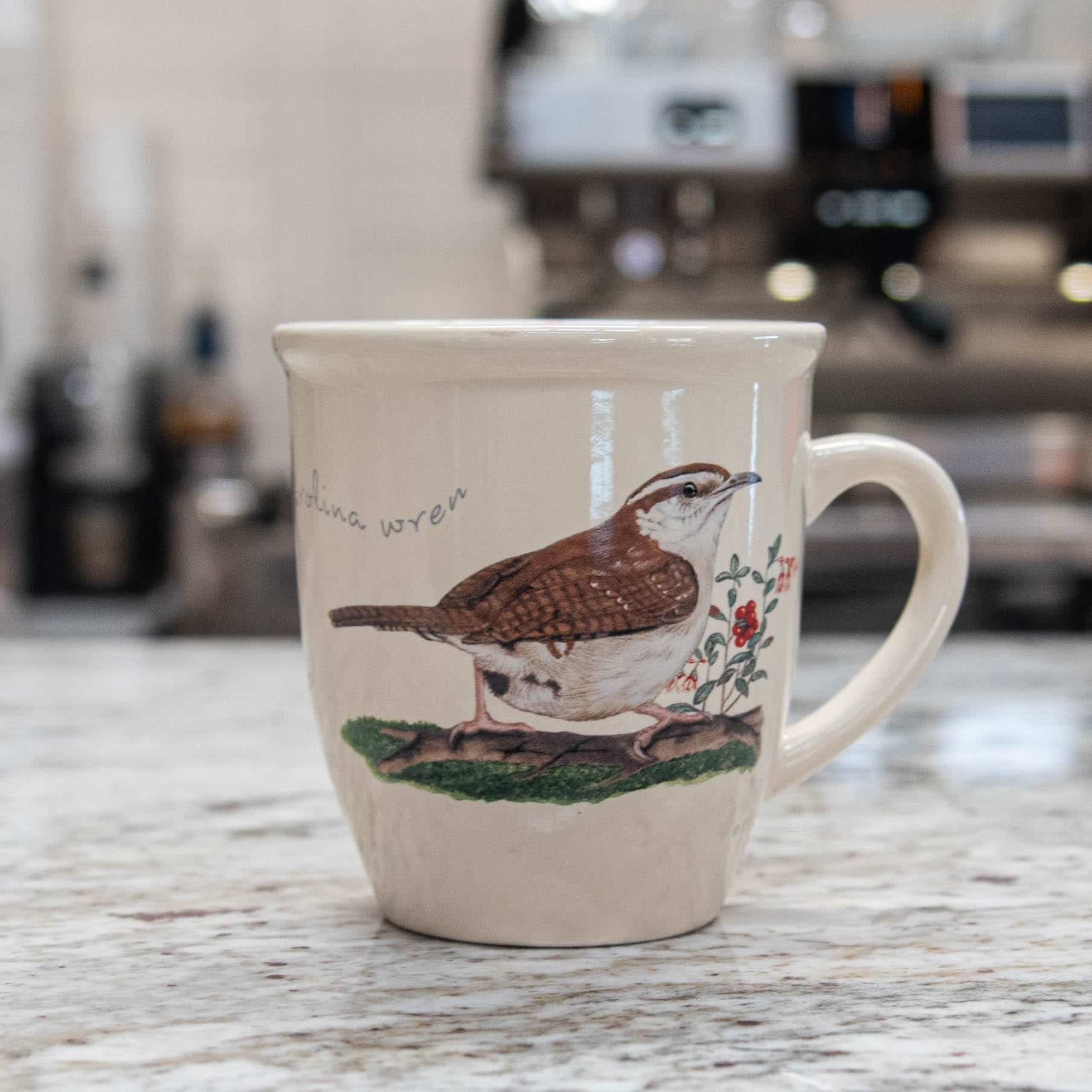 Bird Mug – Carolina Wren