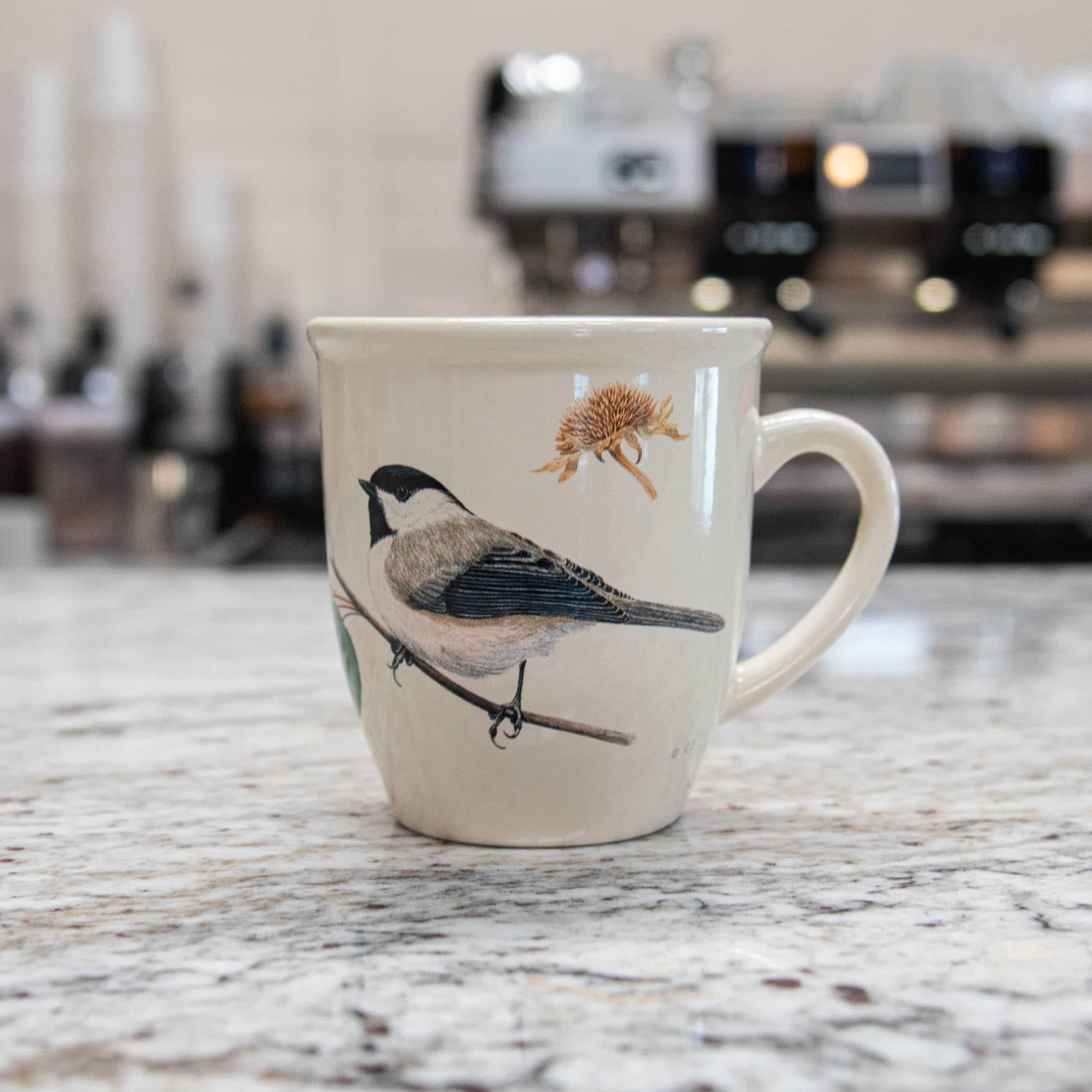 Bird Mug – Chickadee
