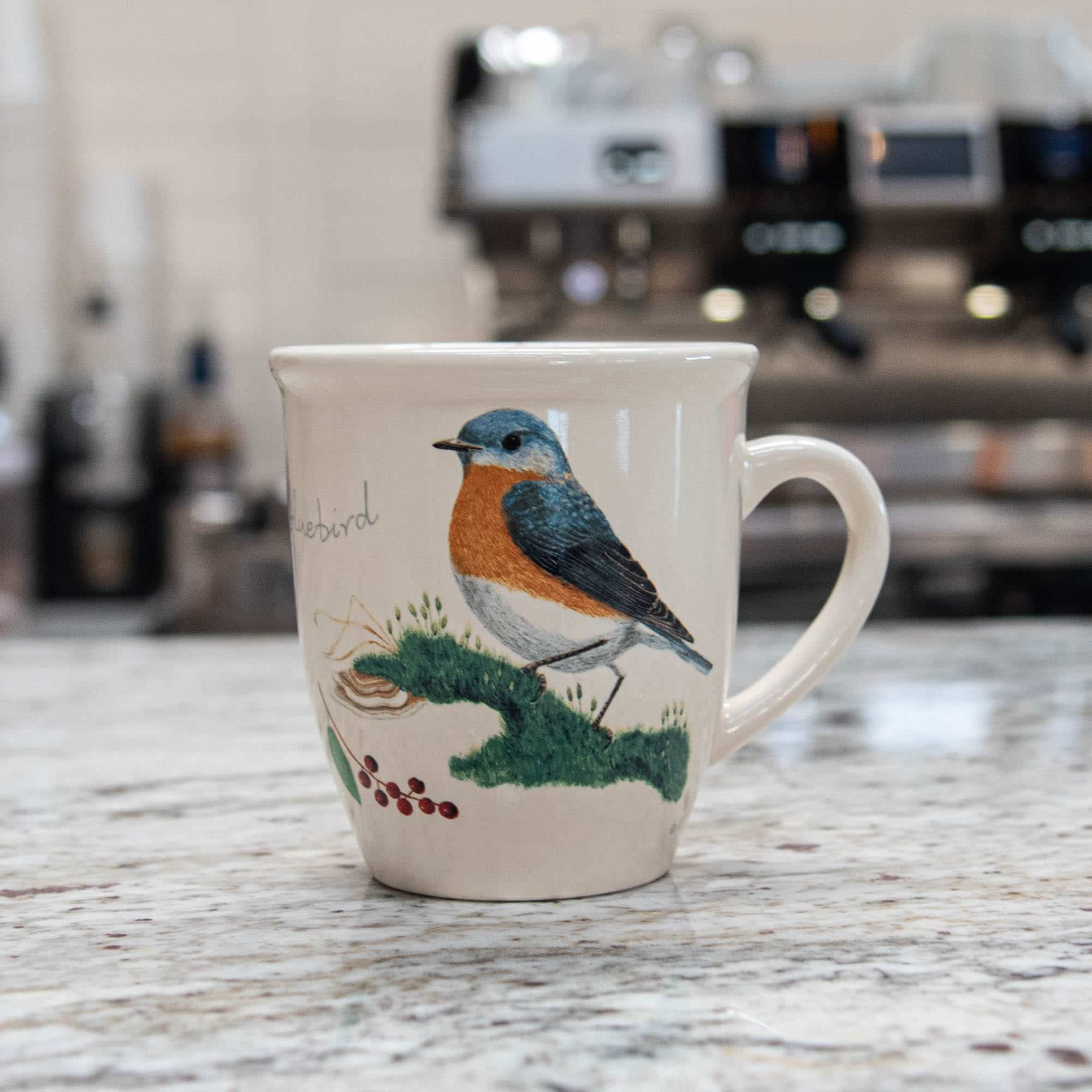 Bird Mug – Eastern Bluebird