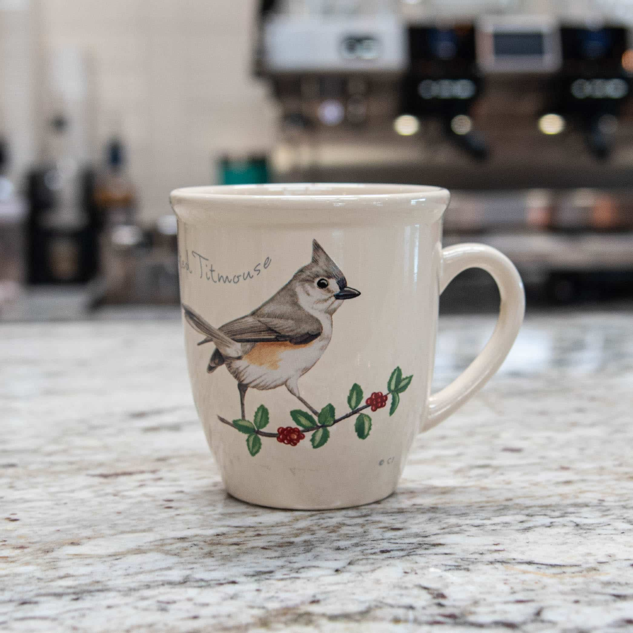 Bird Mug – Tufted Titmouse