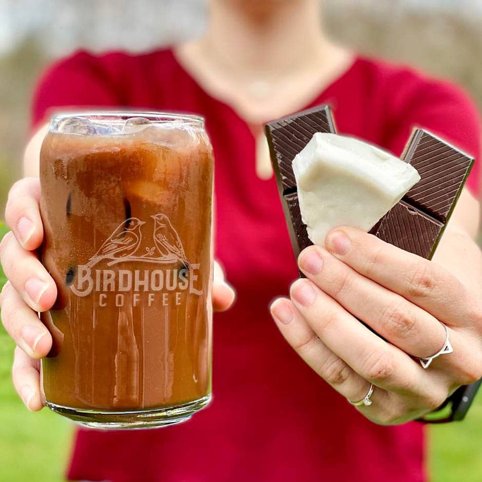Iced Coconut Dark Chocolate Cold Brew (Pickup Only)